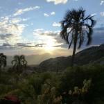 Coucher de soleil sur l'Andringitra