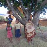 Accueil des villageois