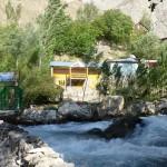 Arrivée à Padrud : notre gusethouse