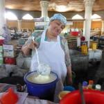 Courses au marché de Pendjikent