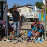Laveurs de chaussures - Ethiopie