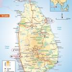 Cartes de Sri Lanka