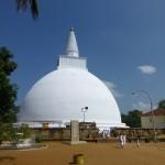 Dagoba à Anuradhapura