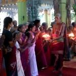 Cérémonie au temple Tellipalai