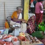Sur le marché de Trincomalee