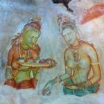 Fresque des demoiselles de Sigiryia