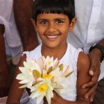 Offrandes à Anuradhapura