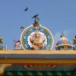 Au temple à Trincomalee