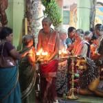Cérémonie pour les femmres au temple Tellipalai