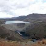 Le Katse dam