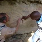 Peintures rupestres avec Joseph