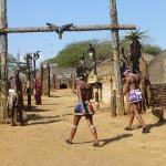 Entrée au village Zulu