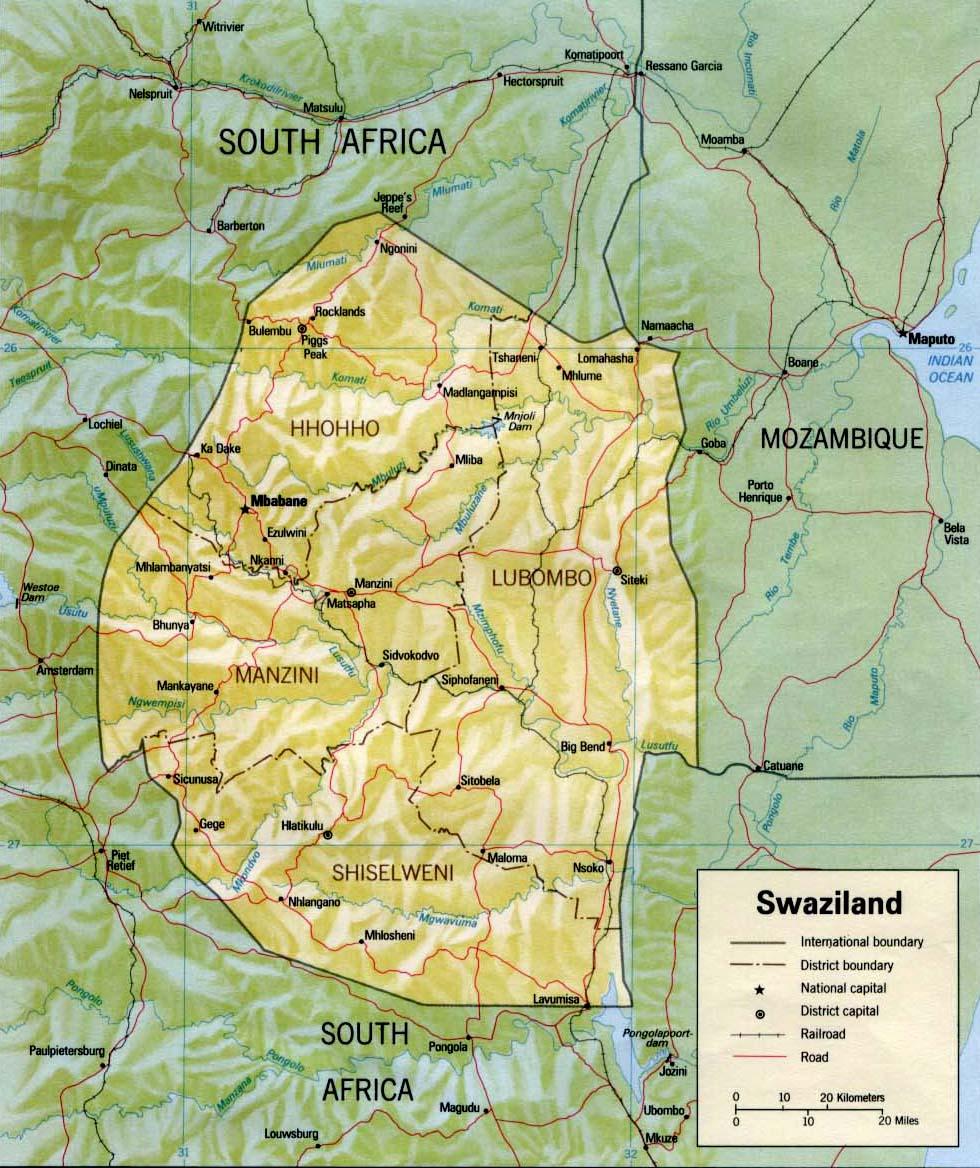 swaziland_relief