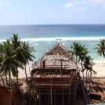 Chantier de bateau à Pantai Timur