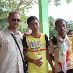 Avec nos amis de Sulawesi…