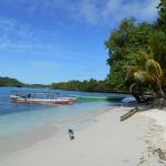 La plage de Poya Lisa