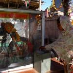 Donations au temple