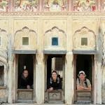 Nous au Rajasthan.