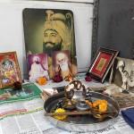 Autel de prière chez Lalli Singh