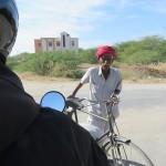 Turban et vélo