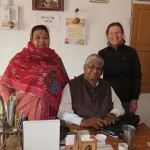 Avec nos hotes de l'Annpurna haveli de Bundia