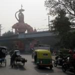 Hanuman à Delhi!