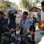 Ventre de porte bonheur pour la moto