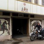 Devant notre guestrhouse de Nawalgar