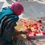 Offrandes au Jaddish temple