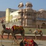 Palais en face du lac de Jaipur