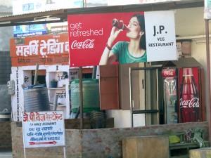 JP restaurant -route de Delhi-