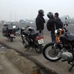 On quitte Delhi dans le brouillard