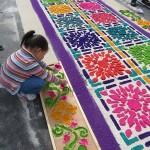 Fabrication des alfombras