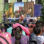 Spectacle de samedi saint à Zunil