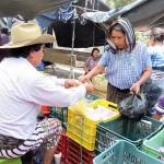 Au marché de Santiago