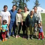 Avec Dauit et sa famille