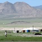 Yourtes … à Khovd-Altaï-
