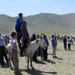 Naadam, courses de chevaux
