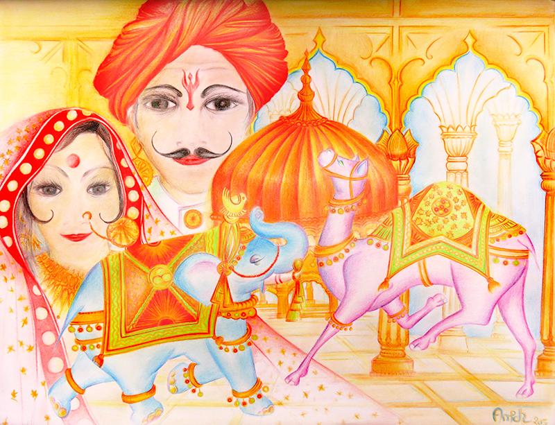 Rajstan- Dessin d'Anik-