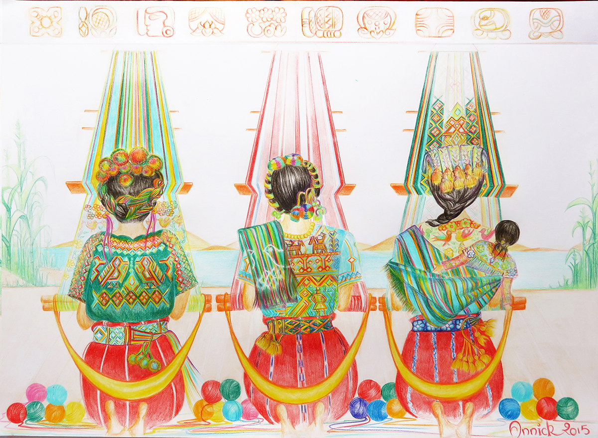 Guatemala - Anik dessin