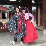 Pose au palais Gyeonggijeon