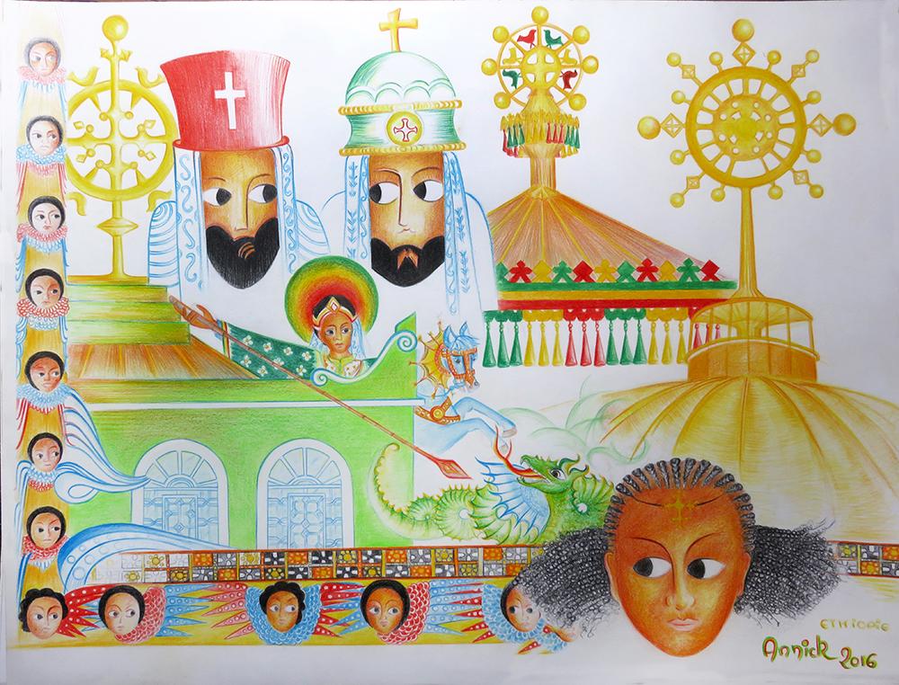 1000 dessin Anik Ethiopie 2016