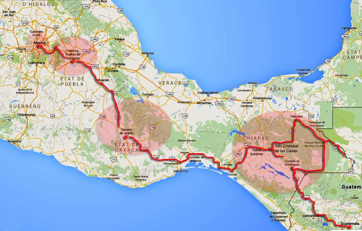 route gilanik projet