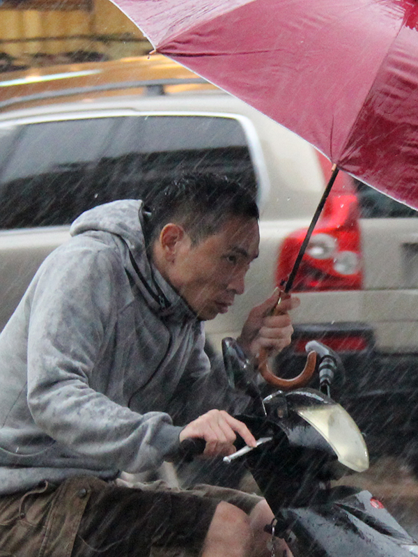 Pluie à Suao