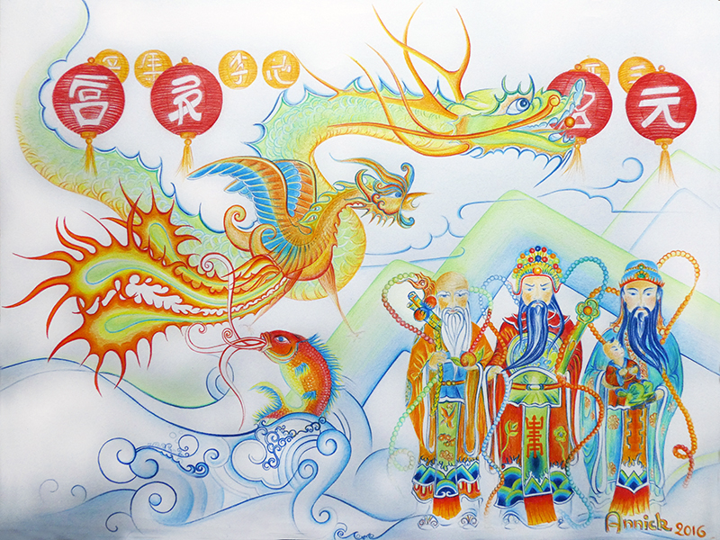 Dessin d'Anik Taiwan