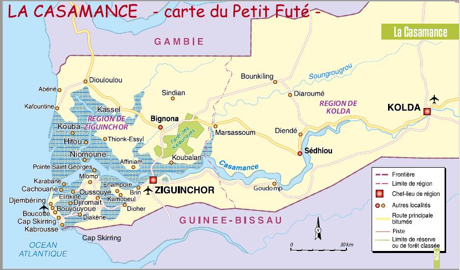 Gilanik Petit futé Casamance