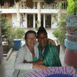 Elisabeth,la propriétaire du campement Emanaye à Oussouye