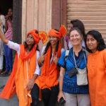 A la fête  du Maharashra à Nashik