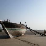 Marée basse à Modhava