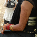 Jeune femme à Bombay